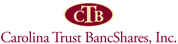 Carolina Trust BancShares logo