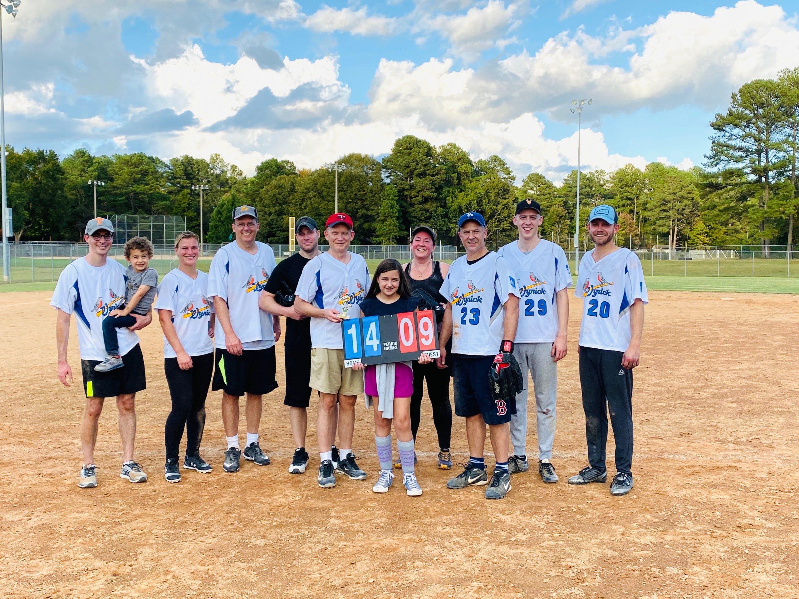 Wyrick Robbins 2019 Softball Champions